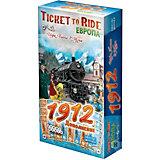 Настольная игра Hobby World Ticket to Ride Европа: 1912, дополнение