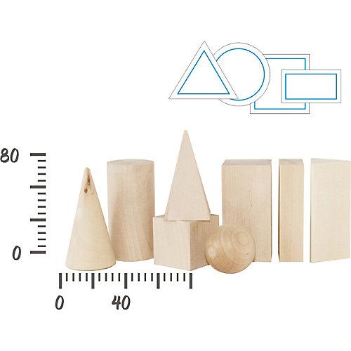 Обучающий набор Краснокамская игрушка Геометрические тела от Краснокамская игрушка