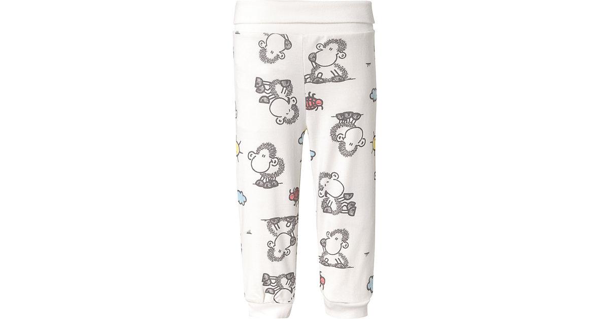Sheepworld Baby Softbundhose, Organic Cotton offwhite Gr. 68/74