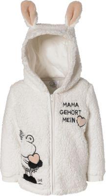 next Baby M/ädchen Strickjacke Mit H/äschenohren