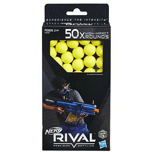Шарики для бластеров NERF RIVAL, 50 штук от Hasbro