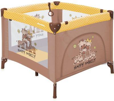 Манеж-кровать Lorelli Play station, бежево-жёлтый
