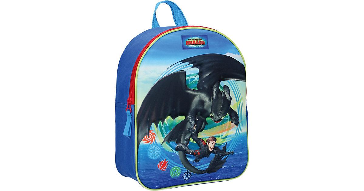 Kinderrucksack Dragon blau