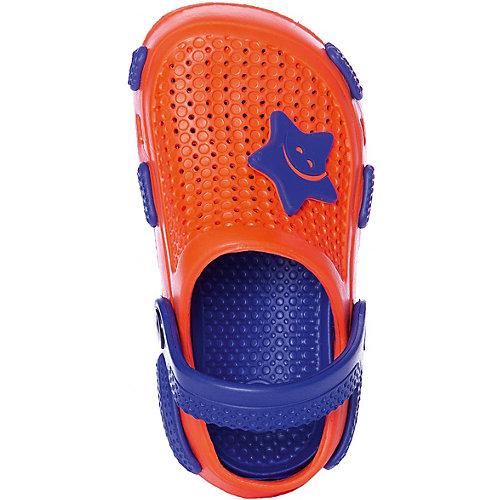 Сабо Calypso - синий/оранжевый от Calypso