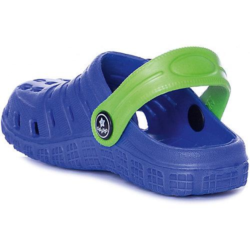 Сабо Calypso - синий/зеленый от Calypso