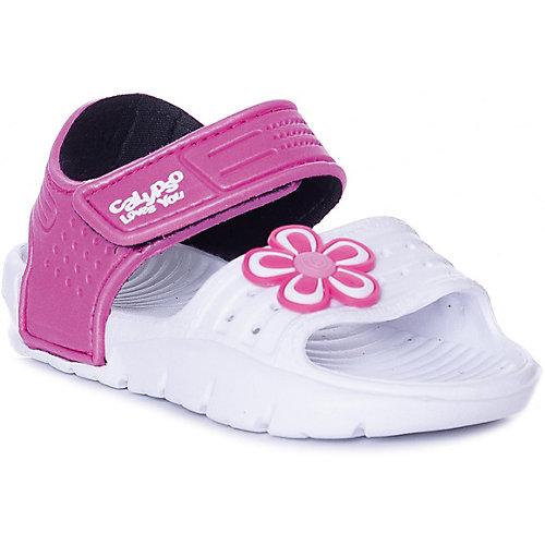 Сандалии Calypso - розовый/белый от Calypso