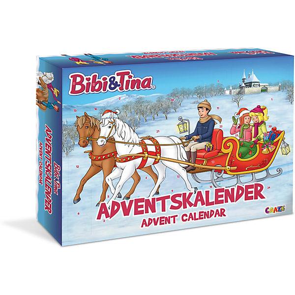 advent calendar  bibi  tina bibi und tina  mytoys