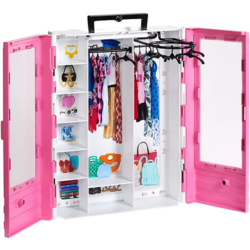 Игровой набор Barbie Розовый шкаф модницы от Mattel