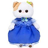 Мягкая игрушка Budi Basa Кошечка Ли-Ли в синем платье, 24 см