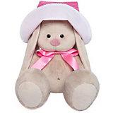 Мягкая игрушка Budi Basa Зайка Ми в розовой панамке и с бантиком, 23 см