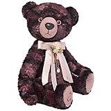 Мягкая игрушка Budi Basa Медведь БернАрт, бордовый, 30 см