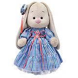 Мягкая игрушка Budi Basa Зайка Ми в платье в стиле Кантри, 32 см