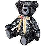 Мягкая игрушка Budi Basa Медведь БернАрт, серебряный, 30 см
