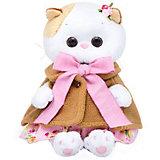 Мягкая игрушка Budi Basa Кошечка Ли-Ли Baby в накидке и розовом сарафане, 20 см
