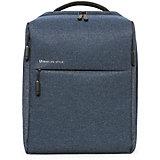 Рюкзак Xiaomi Mi City Backpack, темно-голубой