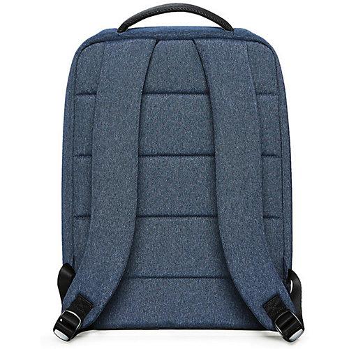 Рюкзак Xiaomi Mi City Backpack, темно-голубой - темно-синий