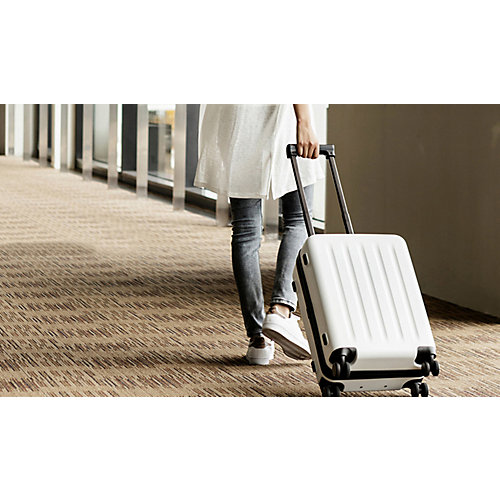 "Чемодан Xiaomi 90 Point Luggage 20"", белый - белый"