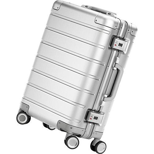 "Чемодан Xiaomi 90 Points Luggage 20"", серебристый - серый"
