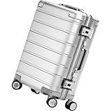 Чемодан Xiaomi 90 Points Luggage 20, высота 55 см, серебро