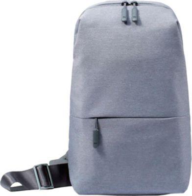 Рюкзак Xiaomi Mi City Sling Bag, светло-серый