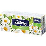Носовые платочки Kleenex Chamomile, упаковка 10 штук