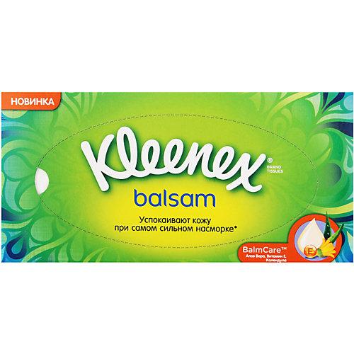 Салфетки Kleenex Balsam, 72 штуки от Kleenex