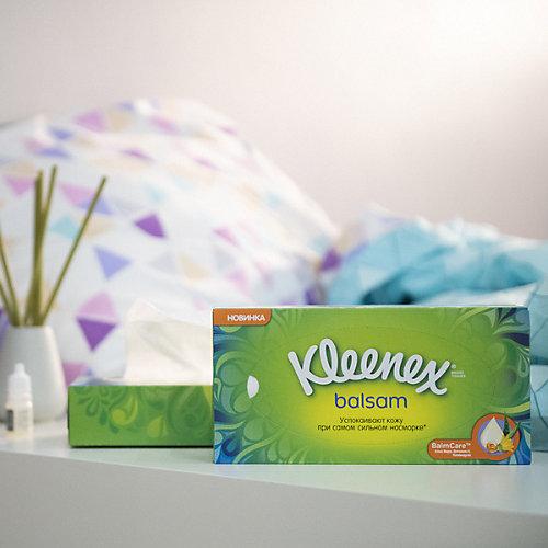 Салфетки Kleenex Balsam, 72 штуки