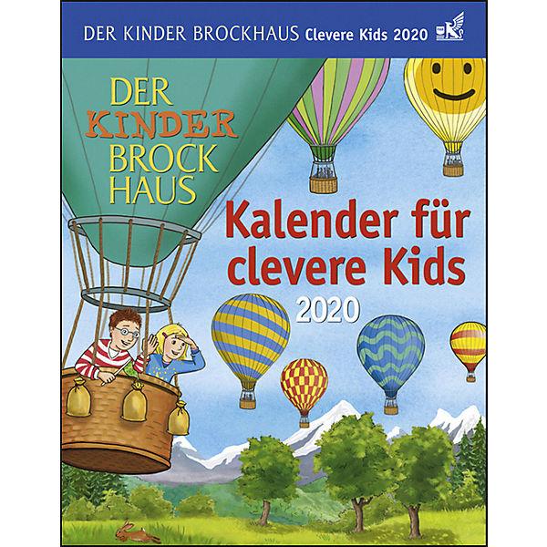 Calendrier Avent Kinder 2020.Der Kinder Brockhaus Kalender Fur Clevere Kids 2020 Achim Ahlgrimm