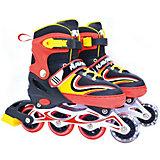 Роликовые коньки 1Toy, красные