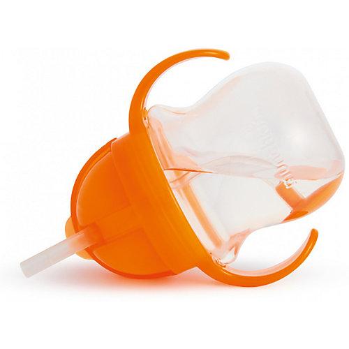 Поильник Munchkin Click Lock с трубочкой 207 мл. - оранжевый от munchkin