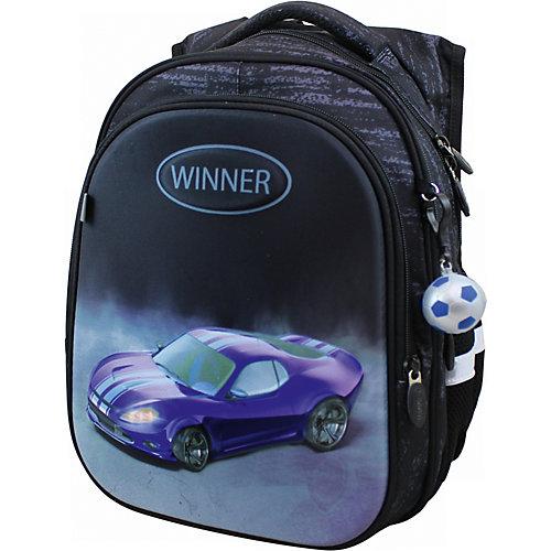 Рюкзак Winner 8072 с брелоком, черный от WINNER