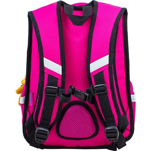 Рюкзак Winner 8048 с брелоком, розовый - розовый от WINNER