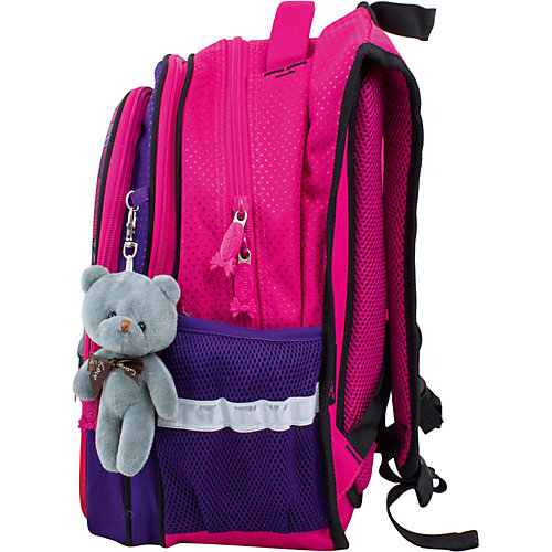 Рюкзак Winner 8070 с брелоком, розовый от WINNER