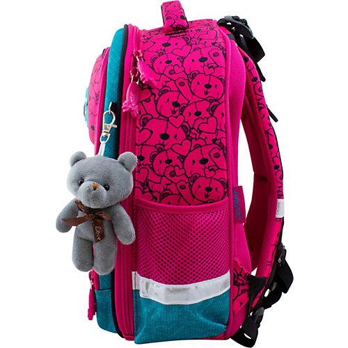 Ранец Winner 6004 с брелоком, розовый - розовый от WINNER