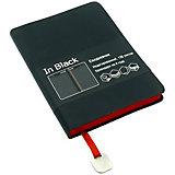 Ежедневник «Канц-Эксмо» In BLACK, красный
