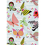 Книга для записей  «Канц-Эксмо» Пестрые бабочки