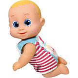 """Интерактивная кукла Bouncin' Babies """"Кукла Баниэль"""", ползущая, 16 см"""