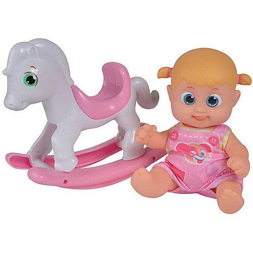 """Интерактивная кукла Bouncin' Babies """"Кукла Бони"""", с лошадкой-качалкой, 16 см от Bouncin' Babies"""
