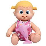 """Интерактивная кукла Bouncin' Babies """"Кукла Бони"""", плавающая с дельфином, 35 см"""