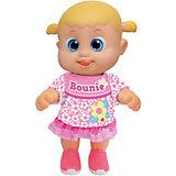 """Интерактивная кукла Bouncin' Babies """"Кукла Бони"""", шагающая, 16 см"""