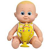 """Интерактивная кукла Bouncin' Babies """"Кукла Баниэль"""", плавающая с дельфином, 35 см"""