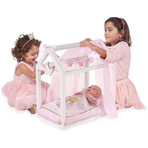 """Кроватка для кукол DeCuevas """"Мария"""" с аксессуарами, 55 см от DeCuevas"""