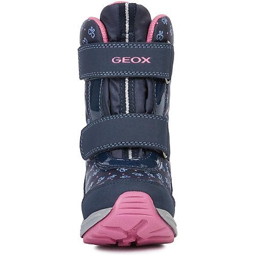 Утеплённые сапоги Geox - синий от GEOX