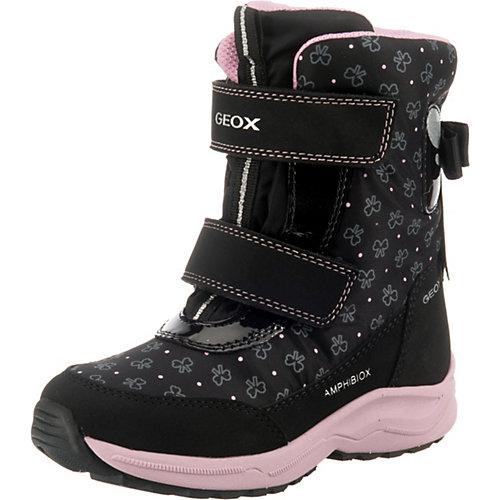 Утеплённые сапоги Geox - черный от GEOX
