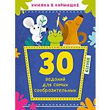 """Книжка в кармашке """"30 заданий для самых сообразительных"""""""
