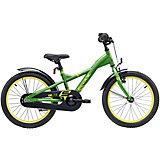 """Двухколесный велосипед Scool XXlite 18"""", зелёный"""