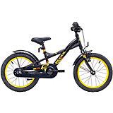 """Двухколесный велосипед Scool XXlite 16"""", чёрный"""
