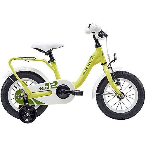 """Двухколесный велосипед Scool NiXe 12"""", жёлтый от Scool"""