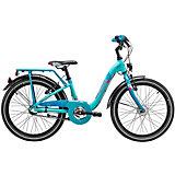 """Двухколесный велосипед Scool chiX 20"""", голубой"""