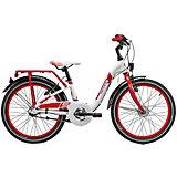 """Двухколесный велосипед Scool chiX 20"""", белый"""
